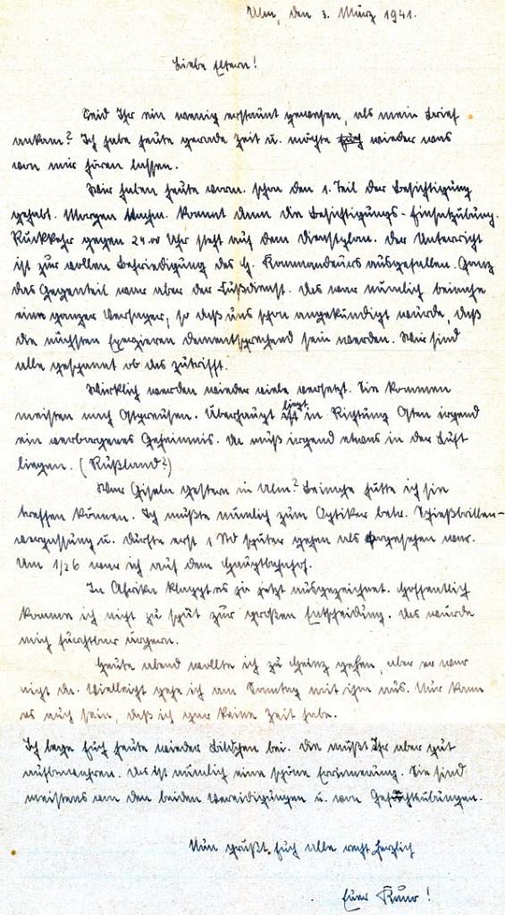 Briefe Nach Russland : Feldpostbriefe kuno rinker