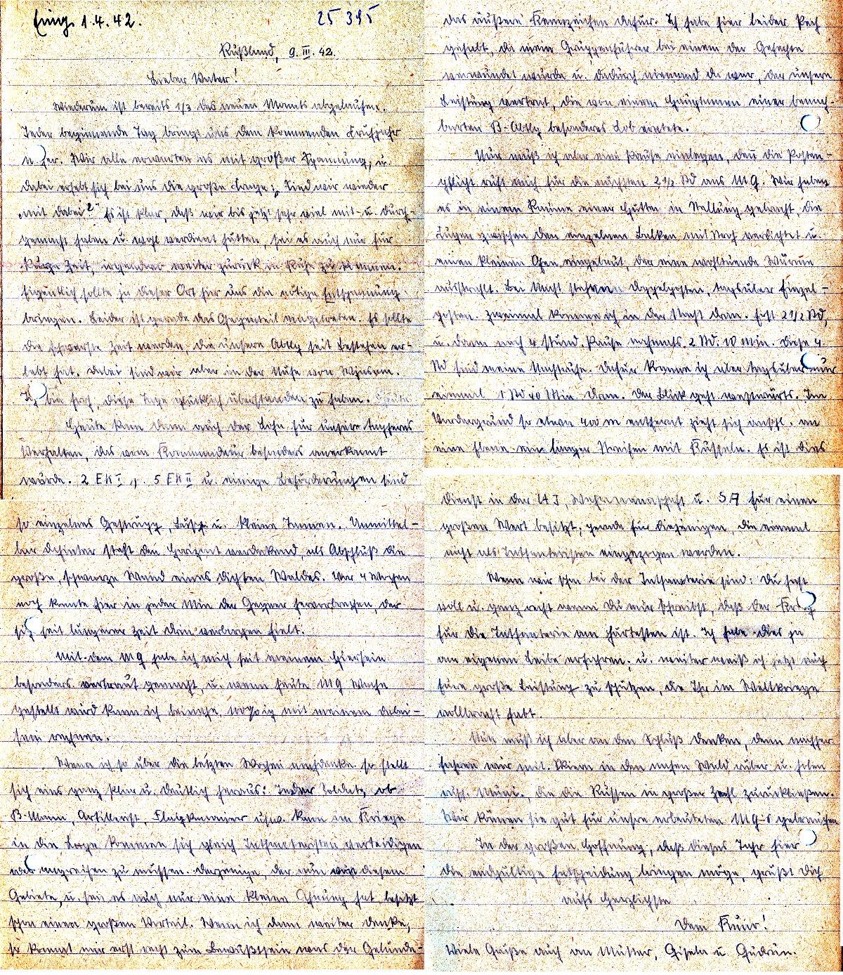 soldaten briefe nach hause zweiter krieg